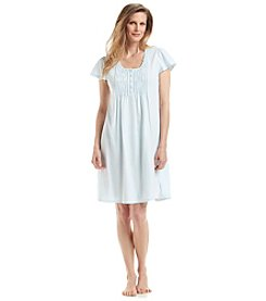 Miss Elaine® Blue Nightgown