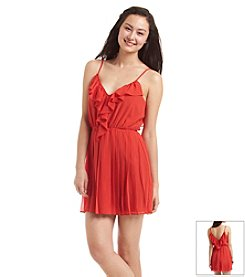BCBGeneration® Ruffle Pleated Dress