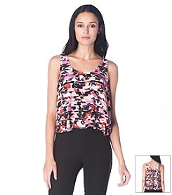 Sam Edelman™ Layered Printed Tank