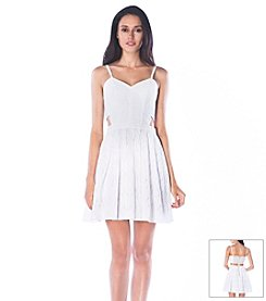 Sam Edelman™ Eyelet Cutout Dress