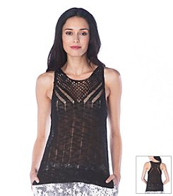 Sam Edelman™ Pointelle Stitch Sweater Tank