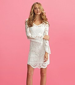 XOXO® All Over Lace Dress