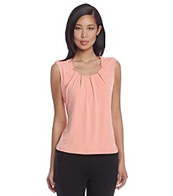 Calvin Klein Top With Embellished Neckline
