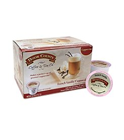 Door County Coffee & Tea Co. French Vanilla Cappuccino 12-Pk. Single Serve Cups
