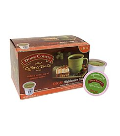 Door County Coffee & Tea Co. Highlander Grogg Decaf 12-Pk. Single Serve Cups