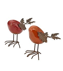 LivingQuarters Ceramic Bird Table Piece