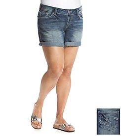 Silver Jeans Co. Plus Size Suki Mid Shorts