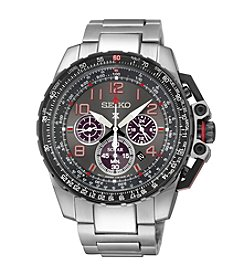 Seiko® Men's Prospex Aviator Solar Chronograph Watch