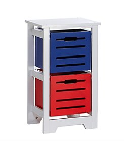 RiverRidge® Kids Cool Colors Collection 2-Bin Storage Cabinet