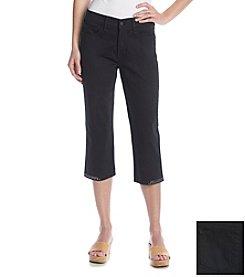 NYDJ® Studded Cuff Crop Jeans