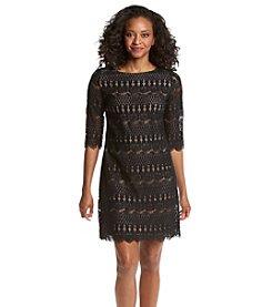 Jessica Howard® Petites' Lace Shift Dress
