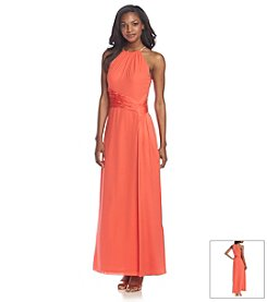 Nine West® Halter Gown