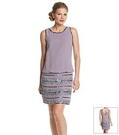 Adrianna Papell® Beaded Blouson Dress