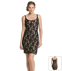 Adrianna Papell® Beaded Lace Tank Dress