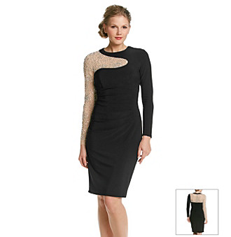 6b490917 UPC 808593728086 product image for Xscape Illusion Beaded Dress |  upcitemdb.com ...