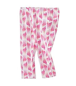 Little Miss Attitude Mix & Match Girls' 2T-6X Zebra Print Capri Leggings
