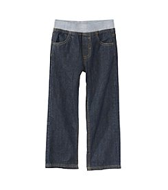 Mix & Match Boys' 2T-7 Knit Waistband Denim Pants