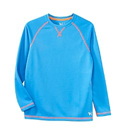 Mambo® Boys 8-20 Long Sleeve Solid Thermal Tee