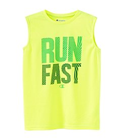 Champion® Boys' 8-20 Run Fast Muscle Tank