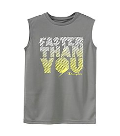 Champion® Boys' 8-20 Faster Than You Muscle Tank