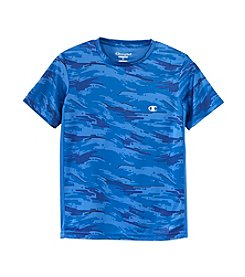 Champion® Boys' 8-20 Short Sleeve Camo Tee