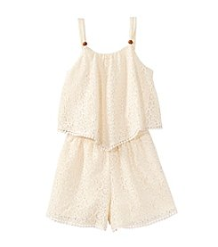 Sequin Hearts® Girls' 7-16 Popover Romper