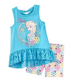 Nannette® Girls' 2T-6X Frozen Knit Pullover Set