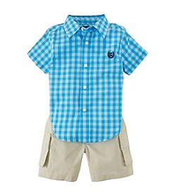Chaps® Baby Boys' Woven Shorts Set