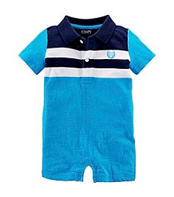 Chaps® Baby Boys' Striped Shortall