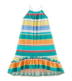 Chaps® Girls' 2T-6X Striped Tank Dress