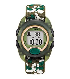Timex® My First Timex Outdoor Green Camouflage Watch