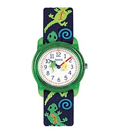 Timex® Kidz Analog Gecko Watch
