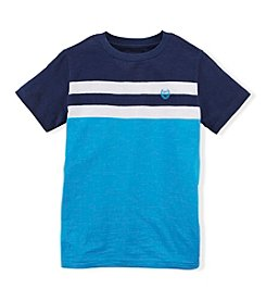 Chaps® Boys' 2T-20 Short Sleeve Striped Tee