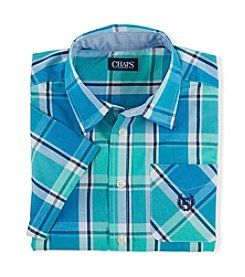 Chaps® Boys' 2T-20 Short Sleeve Woven Shirt