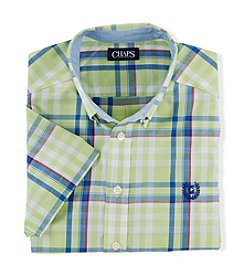 Chaps® Boys' 2T-4T Short Sleeve Woven Shirt