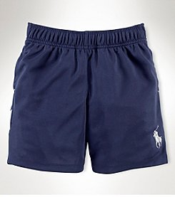 Ralph Lauren Childrenswear Boys' 2T-20 Solid Athletic Shorts