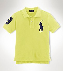 Ralph Lauren Childrenswear Boys' 2T-20 Short Sleeve Logo Polo