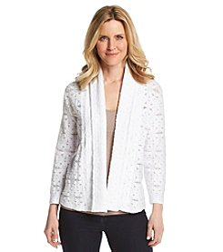 Ruby Rd.® Modern Mosaic Lace Cardigan