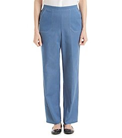 Alfred Dunner® Paradise Island Denim Pull On Pants