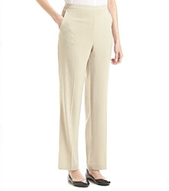 Alfred Dunner® Animal Magnetism Solid Pull On Pants