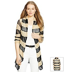 Lauren Jeans Co.® Open-Front Shawl Cardigan