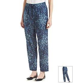 Gloria Vanderbilt® Regina Soft Floral Print Crop