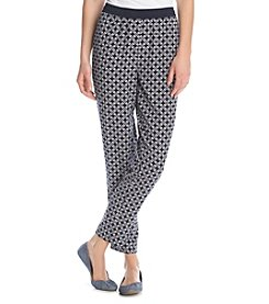Jones New York Signature®Printed Crop Pant