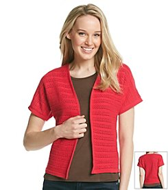 Jones New York Sport® Dolman Open Cardigan