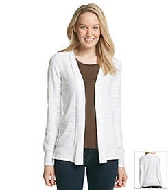 Jones New York Sport® Open Front Cardigan
