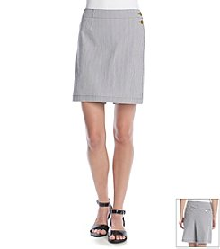 Jones New York Signature® Stripe Skort