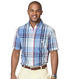 Chaps® Men's Short Sleeve Gordon Plaid Woven