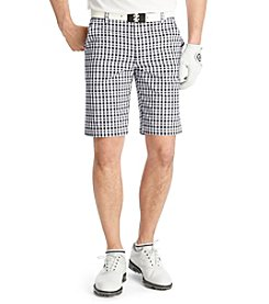 Izod® Men's Flat Front Bold Shore Gingham Short