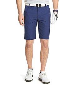 Izod® Men's Flat Front Tonal Houndstooth Short