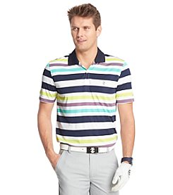 Izod® Men's Short Sleeve Sail Away Stripe Polo